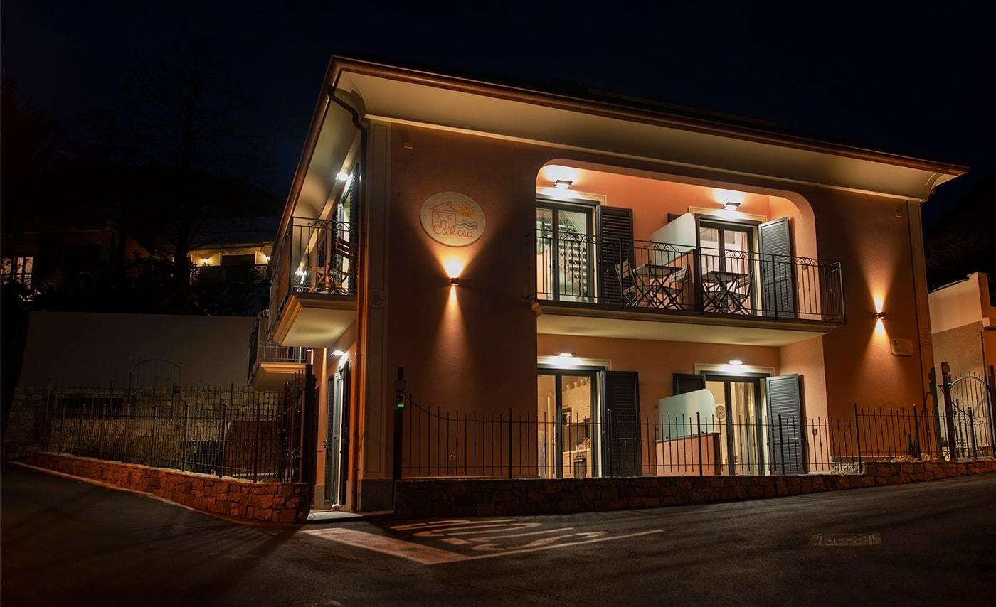 Case vacanza ad Andora<br>in nuovissimi eco - appartamenti <br>a 5 minuti a piedi dal mare!